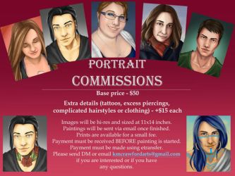Commission Prices by kimcrawford