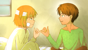 Eremin week - day 1 - first meet by KatInATopHat