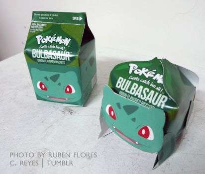 bulbasaur gable box and paper toy by angelic-army