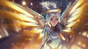 Mercy | Animated Wallpaper - Overwatch by CJXander
