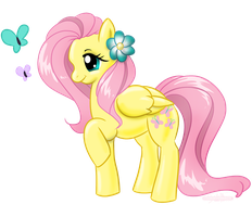 Fluttershy by SMeadows