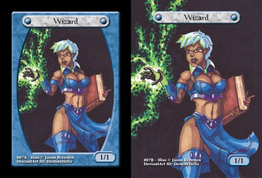Custom Magic Token #7 - Wizard by JasonRocket