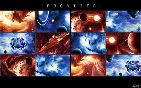 F R O N T I E R - Map Pack by shirosynth