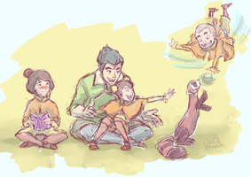 Bolin, the Bestest Babysitter by siquia