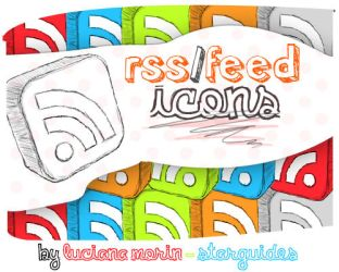 RSS icons by LucianaMorin