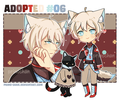 [CLOSED] Adopted Kemonomini #06 by Prino-chan