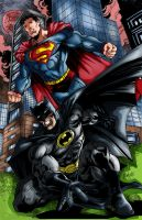 Bruce and clark by richrow