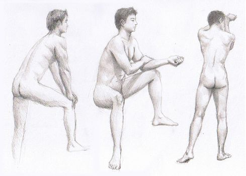 Life Drawing Week 4 by Aerythes