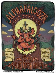 Alphapalooza Art Contest by Papposilenos