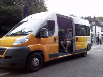 Olympic Torch Relay Higham 2012 9 by Bumble2011