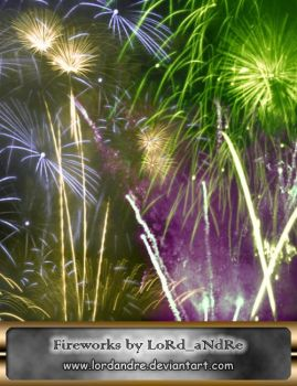 Fireworks high resolution by LoRdaNdRe