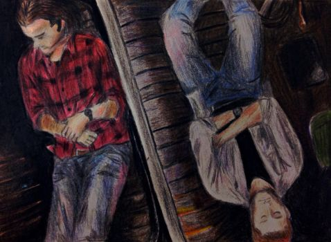 Supernatural: Sam, Dean, and Baby by TheMangaPost