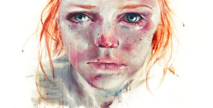 my eyes refuse to accept passive tears by agnes-cecile