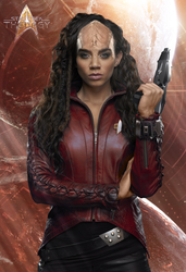 Mickayla, Klingon Outfit | Star Trek: Theurgy by Auctor-Lucan