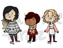 Better with a Sweater | Adopts (CLOSED) by Vividaydreamer
