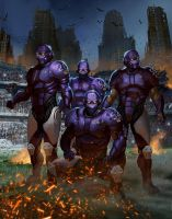 Relentless Baltimore Ravens by ApneicMonkey