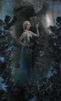 Queen Elsa by saend-me-money