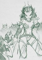 Queen of the Goblins by Numa430