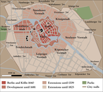 Berlin city map by Arminius1871