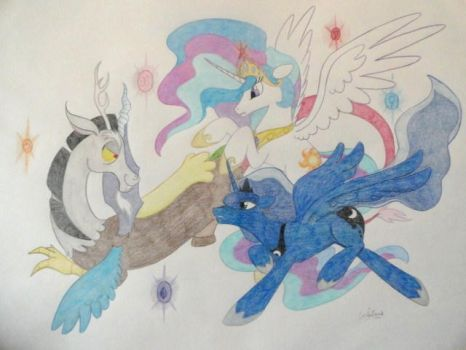 Fight for Equestria by DordtChild