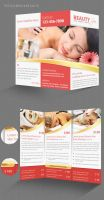 Spa Trifold Brochure by Saptarang