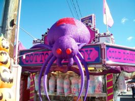 Inflatable Spider at the Fair 2 by DerpyDash64