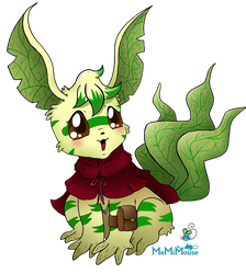 Beta Leafeon Contest Entry by MeMiMouse