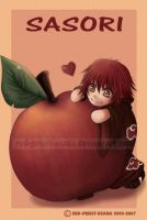 Chibi Fruit Ninja-Sasori by Red-Priest-Usada