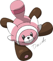 Pokemon Sun and Moon - Stufful