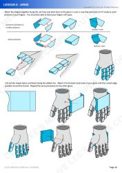 Gundam mecha cosplay tutorial - Lesson 8 - 3 by Clivelee