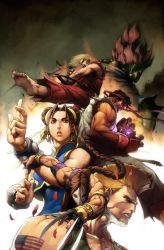 Street Fighter no.3 COVER by alvinlee