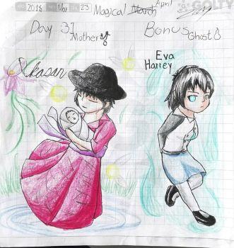 Challenge Magical March Day 31 and 32 (Bonus) by Evan-Harrey