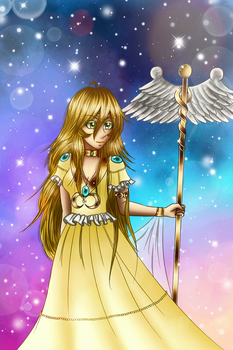 Ania Goddess of Life(Saint Seiya Love of Goddess) by Asma-chan