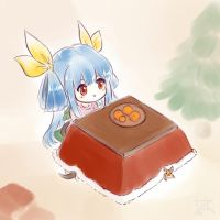 Guilty Gear - Kotatsu Dizzy by cubehero