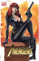Black Widow by MahmudAsrar