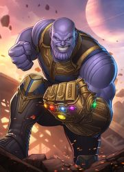 Thanos by PatrickBrown