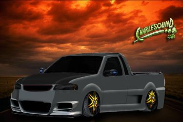 VW Saveiro Vt Tuning by CHARLESOUNDcar