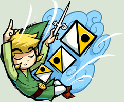 The Wind Waker: Wind's Requiem by Purrdemonium