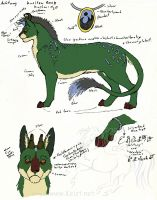 Achtung Reference Sheet by lantairvlea