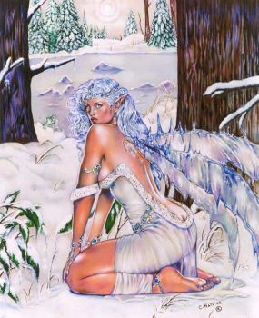 Winter's Frost by Maiafay