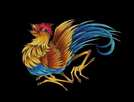 Rooster by Dracuria