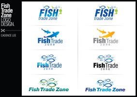 Fish Trade Zone Logo Design by iamcadence
