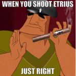 When you shoot Etrius just right by EternityBlue