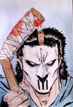 Casey Jones Commission by Mardoza