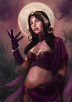 Liliana Vess by Darko-Stojanovic-Art