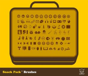 Snack Pack 01 PS Brushes by Quiccs