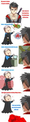[Dmc] It's annoying to have such a brother by eilinna