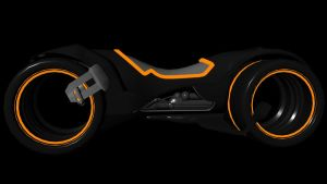 Tron Light Cycle by b1gdan