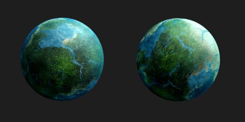 Planet - Edari 1 and 2 by Stock7000