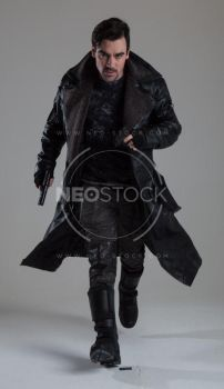 Danny Cyberpunk Detective 142 - Stock Photography by NeoStockz